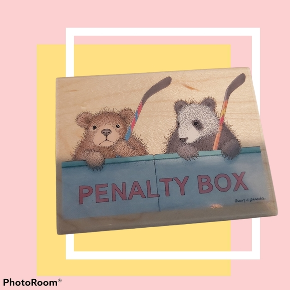 ■GRUFFIES PENALTY BOX  SCRAPBOOK STAMP